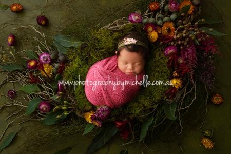 Serene Belly and Newborn